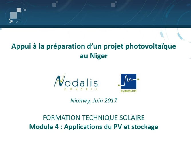 Formation Nigelec